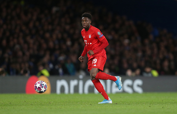 GOAL #8: The Scout –Alphonso Davies